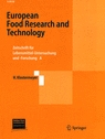 European Food Research